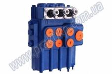 Гидрораспределитель Р80-3/3-444 на погрузчики ПЭА-1.0, ПЭА-1А, ПЭ-Ф-1А, ПЭ-0.8Б